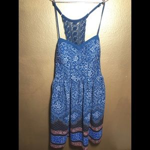 XHILARATION boho dress medium